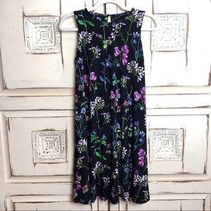 Tommy Hilfiger Black Floral Shift Tank Dress 4
